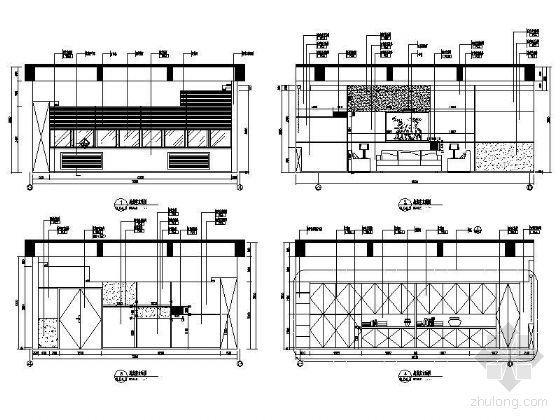 总裁办公室立面设计图