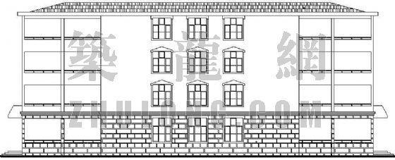 某老年公寓建筑施工图