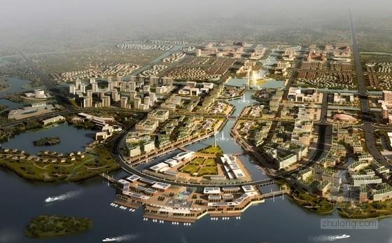 [天津]大型城市综合体规划及单体设计方案文本(国外知名建筑事务所)