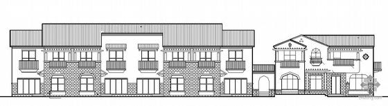 西班牙风格节能型二层别墅建筑施工套图(带节能设计及总图)