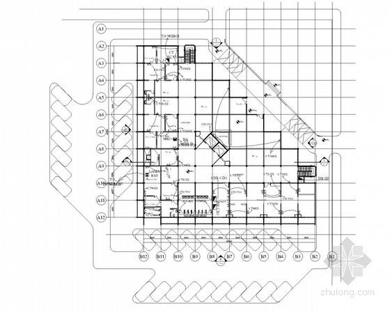 [苏丹]大型医学综合设施项目电气施工图纸英文版(10栋建筑,中国援外项目)