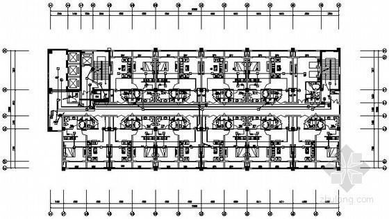[珠海]某14层酒店弱电系统全套施工图纸