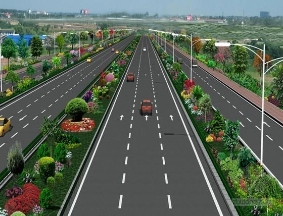 [广东]双向八车道城市快速路施工组织设计143页(CFG桩软基 满堂支架)