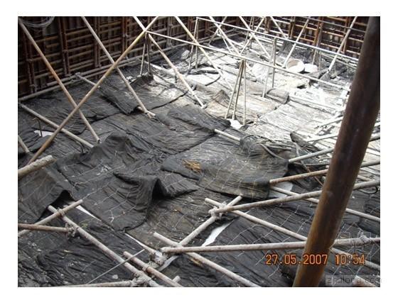 基础底板大体积混凝土施工技术总结