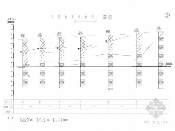 [湖南]市政道路截污干管排水工程施工图101张(含顶管施工 道路破除及恢复)