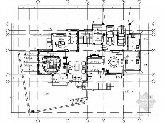 [杭州]某简欧风格双层别墅样板间装修图(含效果)