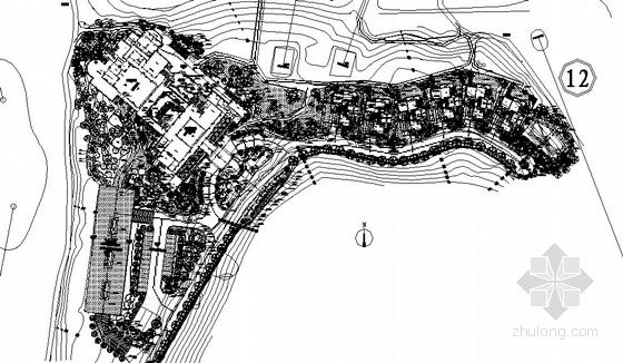 [三亚]东南亚风格高尔夫项目会所及VIP别墅区园林景观绿化工程施工图(包含意向图)