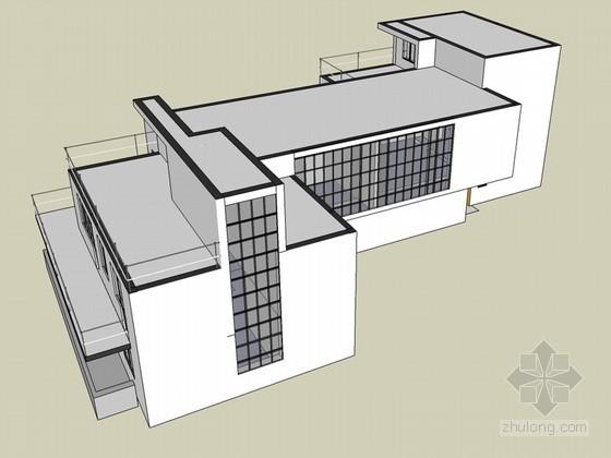 现代低层建筑