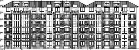 某多层住宅楼全套建筑施工图