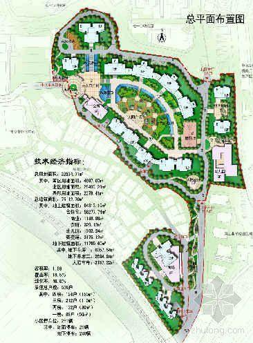 宜昌某小区景观设计图