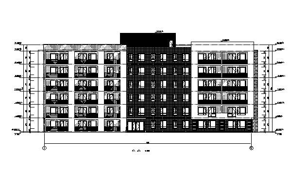 [吉林]16年最新10栋公寓楼框剪结构建筑施工图(含全专业图纸)
