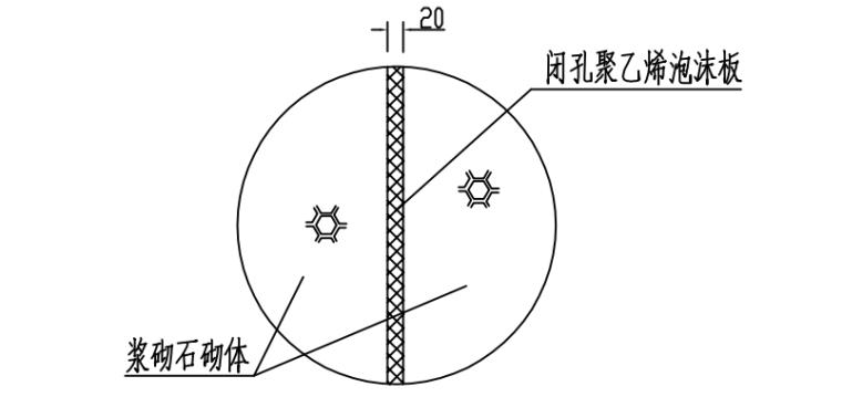 重力式挡土墙拦砂坝工程施工图_5