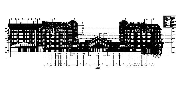 [辽宁]旅游度假酒店终板建筑施工图(含全专业图纸)