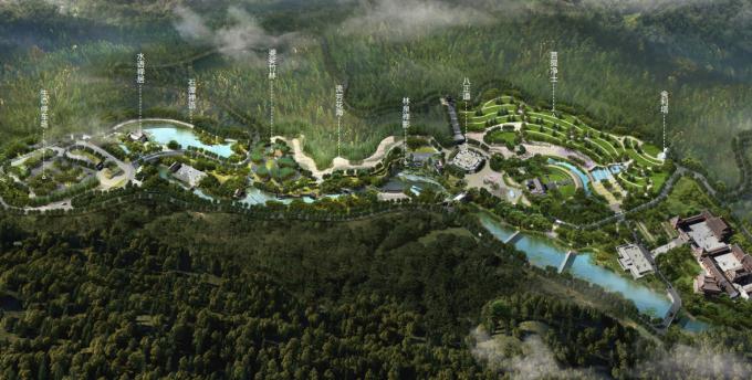 [广东]岭南佛教禅宗文化生态墓园景观设计方案_8