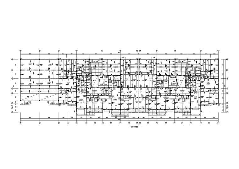 18层剪力墙商住楼全套施工图(含建筑、结构、水电暖)