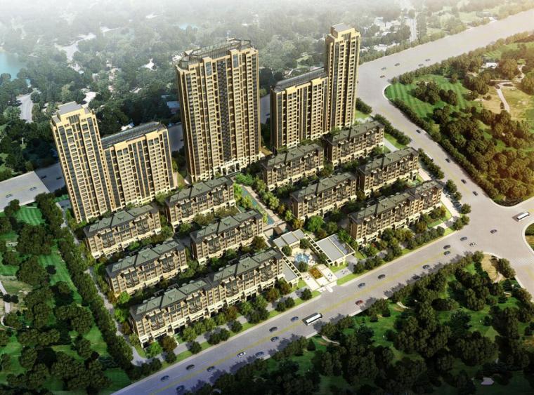 [浙江]金地宁波高新区现代风格居住区建筑规划设计文本(JPG)