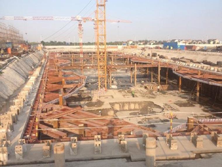 深基坑钢支撑施工质量QC成果ppt版(共22页)