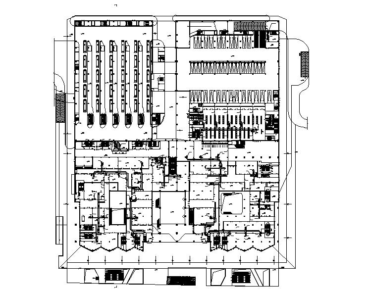 苏州综合交通换乘枢纽暖通设计施工图