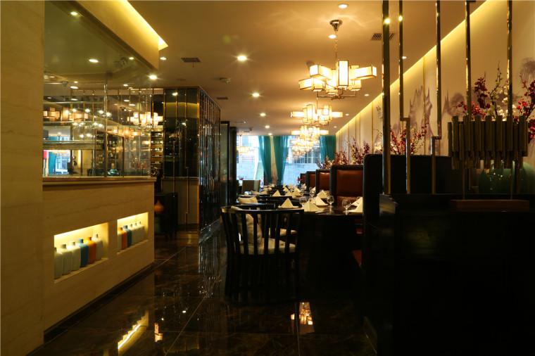 [大连餐厅设计]大连粤食粤点餐厅项目设计实景照片震撼来袭-5.JPG