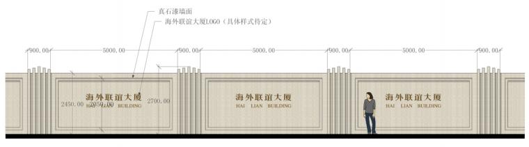海联大厦(销售期)景观深化设计方案文本-海联大厦( 销售期)景观深化设计方案文本C-2围墙详图