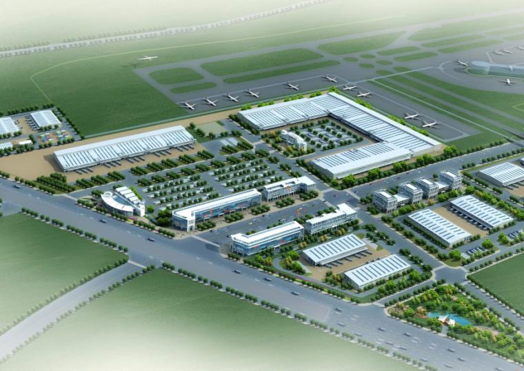 [浙江]空港物流园区布局详细规划设计方案文本