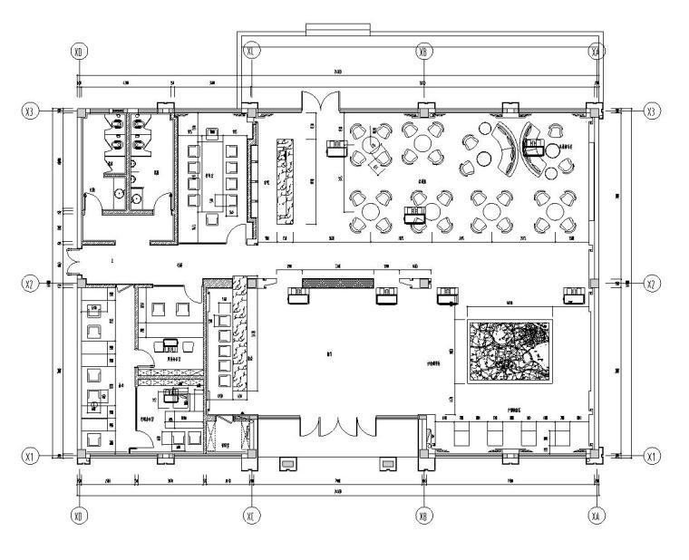 帝凯设计-风景晨园销售中心室内施工图设计(包含实景图)