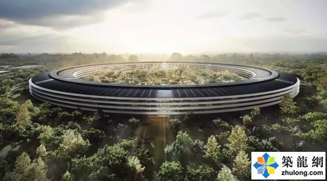 """""""苹果飞船""""总部全是高科技!!有钱就是任性!!"""