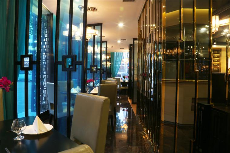 [特色餐厅设计]大连粤食粤点餐厅项目设计实景照片震撼来袭-6.JPG