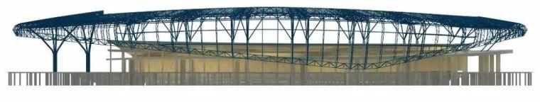 体育场径向环形大悬挑钢结构综合施工技术研究_4