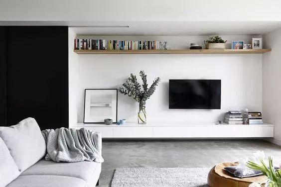 2018年电视背景墙流行这样设计~_37