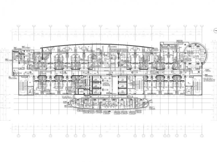 洗浴中心采暖系统设计施工图