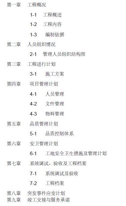 北京某外贸中心厂房消防施工组织设计(电施工方案)