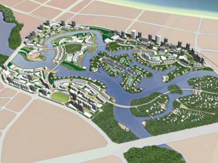 [海南]三亚清水湖整体城市规划设计(湿地,文化,可持续性)