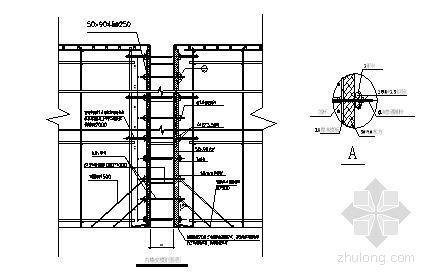 江阴某超高层综合楼地下室模板施工方案