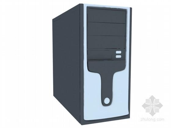 电脑机箱3D模型下载