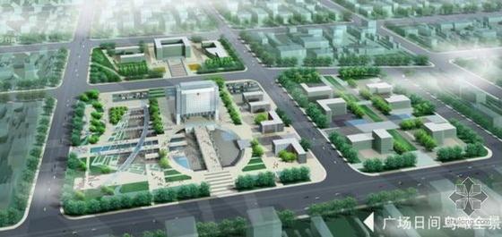 天津古文化街海河楼综合商贸区景观设计