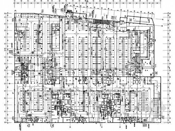 [南方]二十层商业办公楼给排水图纸(压力排水 太阳能热水)