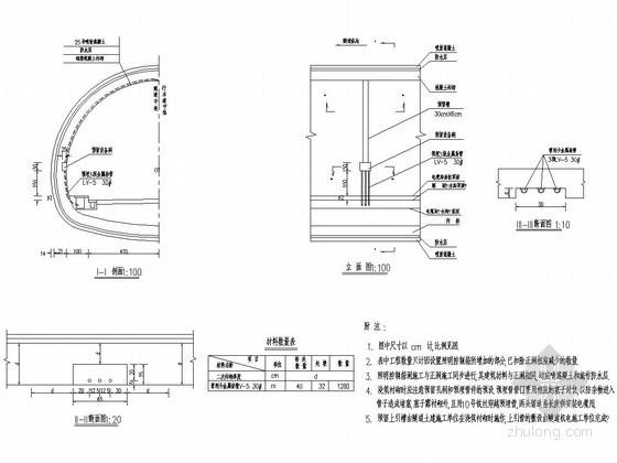隧道照明控制箱设备洞设计图