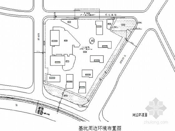 [上海]商业大厦基坑围护体系及深井降水开挖施工方案
