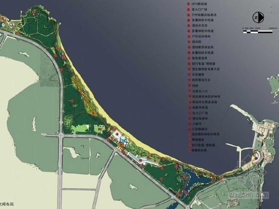 [山东]城市滨海开放空间景观规划设计方案(国内知名景观设计公司)