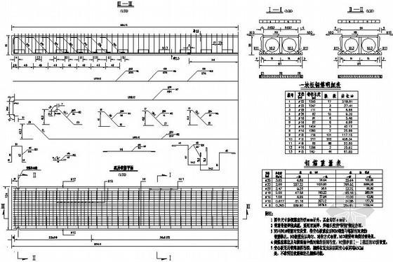 某1-13m空心板桥全套设计图纸