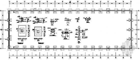 30m跨单层轻钢结构厂房设计图