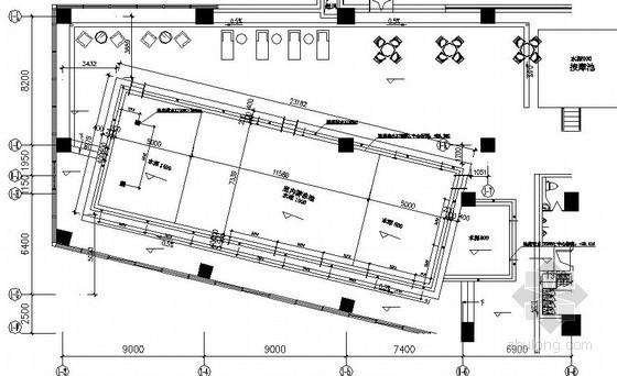 [湖南]五星级酒店室内泳池施工图