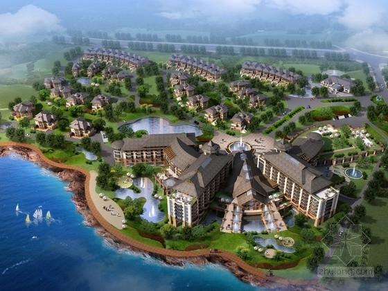 [山东]某东南亚风格度假酒店建筑设计方案文本(含PPT)