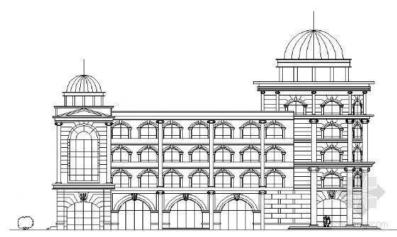 某五层邮政大楼建筑方案图