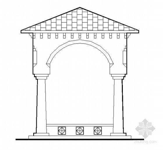 欧式亭子方案设计图