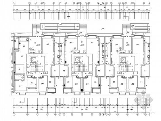小高层住宅楼采暖系统设计施工图(部分对称户型)