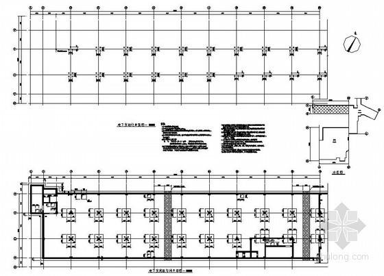 盐城某人防结构设计图