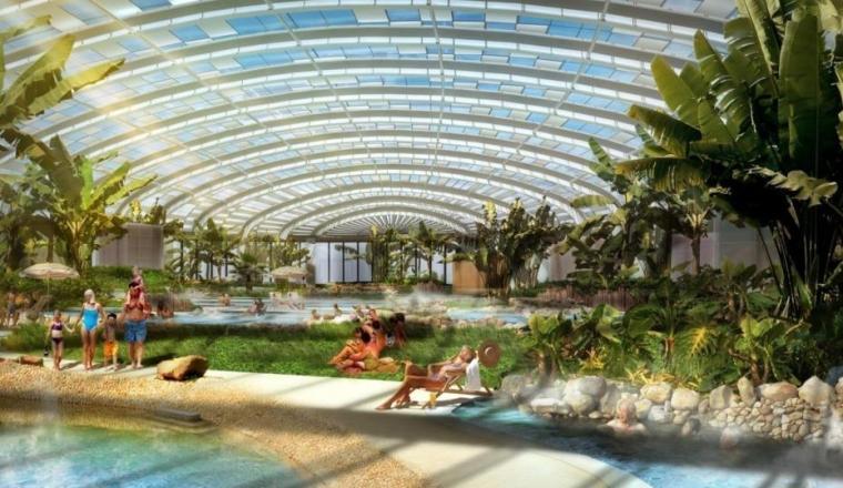 [辽宁]国家试点湿地公园景观规划设计文本-水上世界室内效果图
