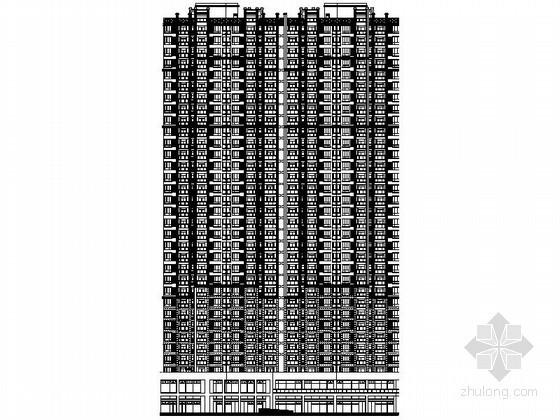 [武汉]某三十二层一梯四户连塔建筑施工图(8号楼)